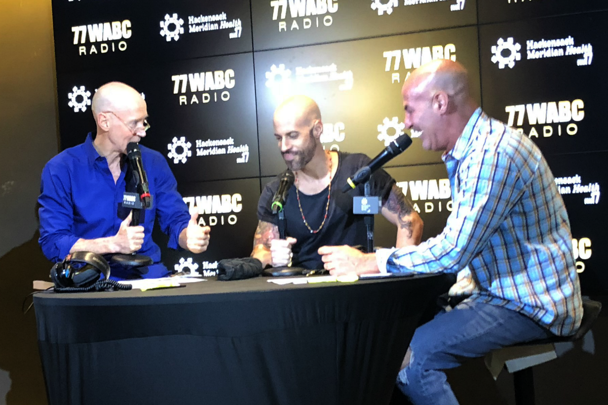 Daughtry joins Bernie and Sid on HMH Stage 17! [Exclusive Video]