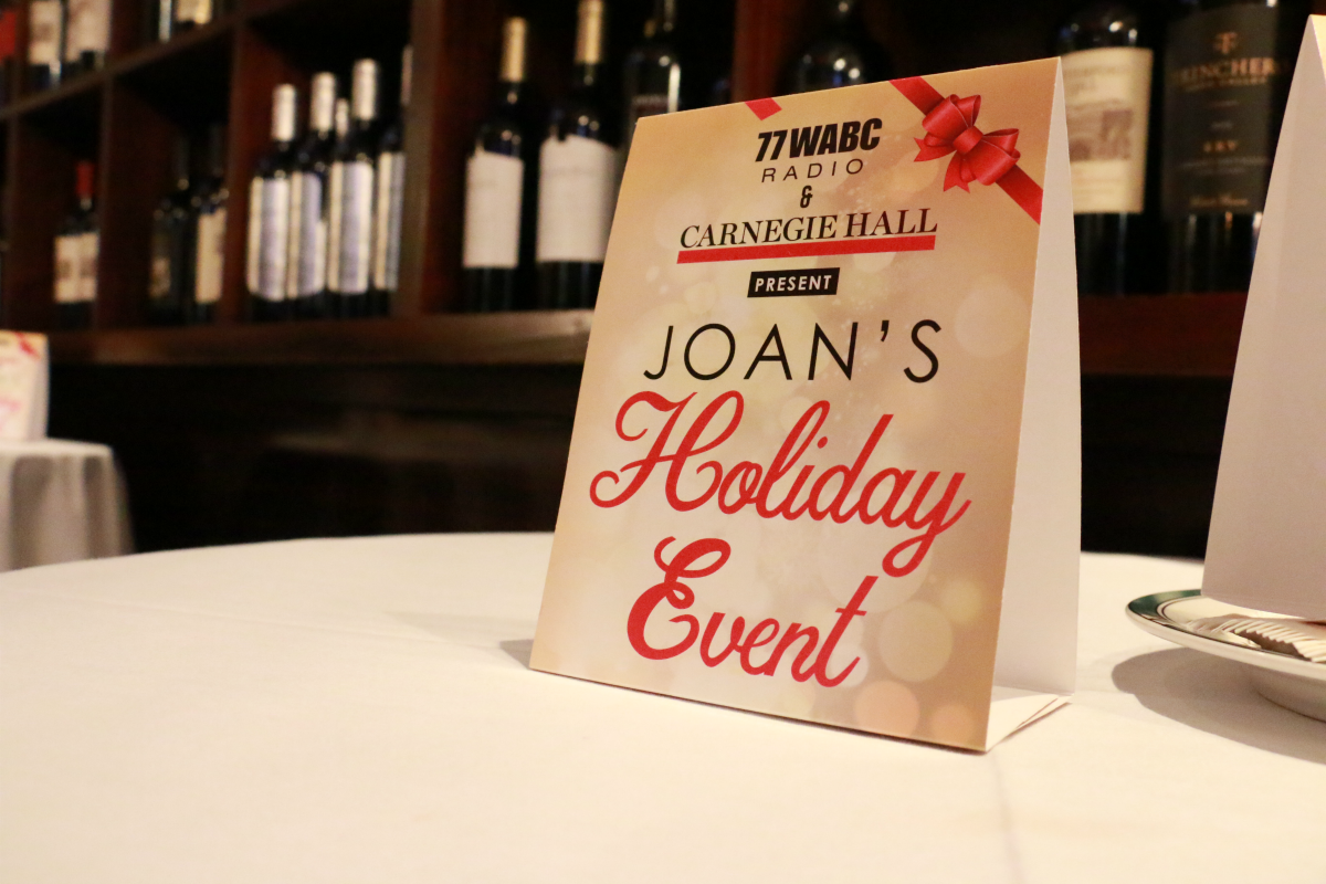 "Recap: 77 WABC and Carnegie Hall Present ""Joan's Holiday Event"" [Exclusive Photos/Interviews]"