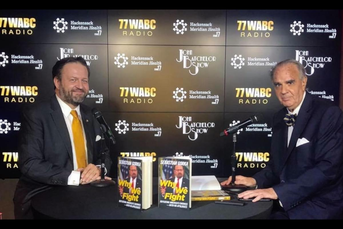 The John Batchelor Show with Sebastian Gorka! [Exclusive Video]