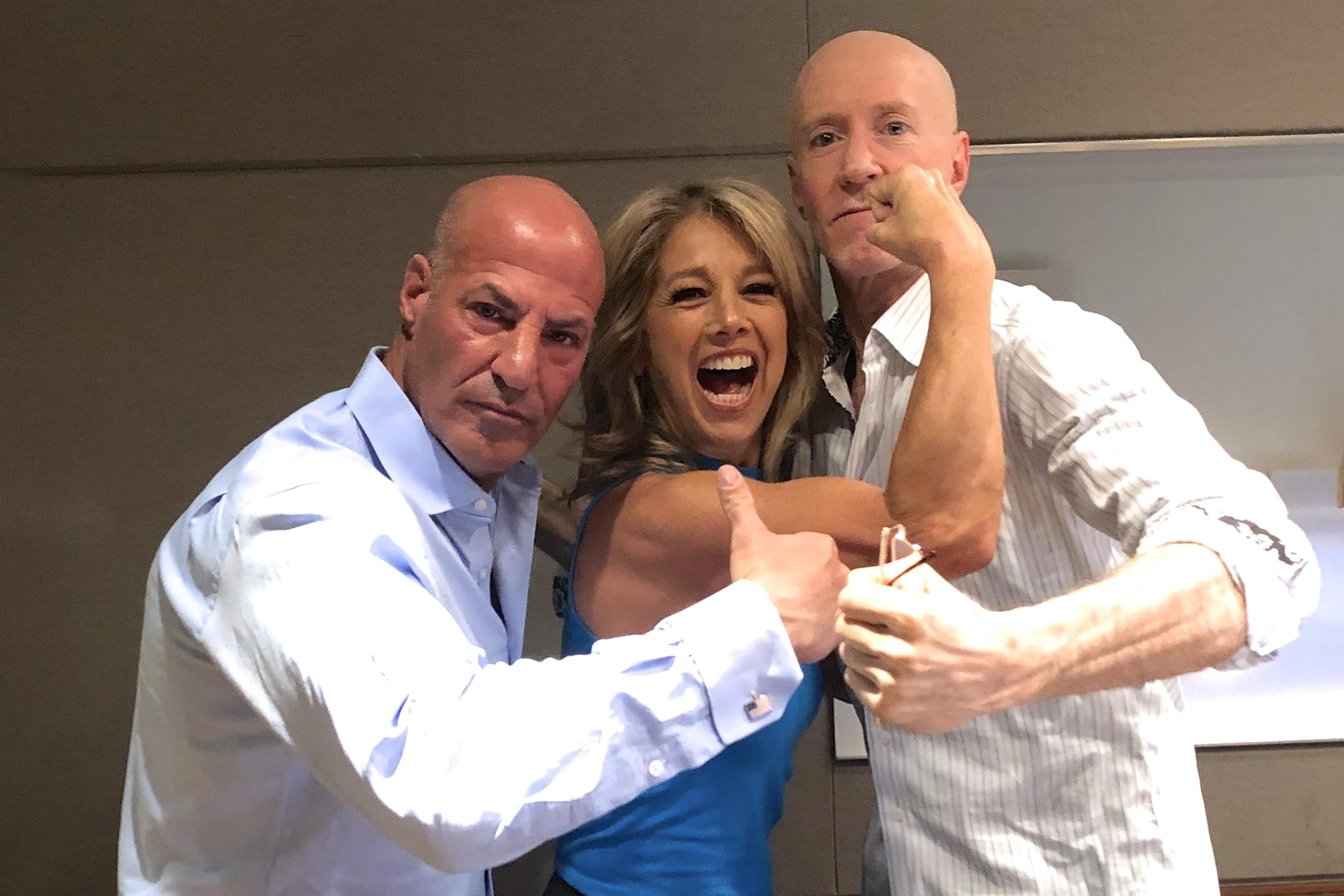Denise Austin LIVE in studio with Bernie & Sid [Exclusive Audio]