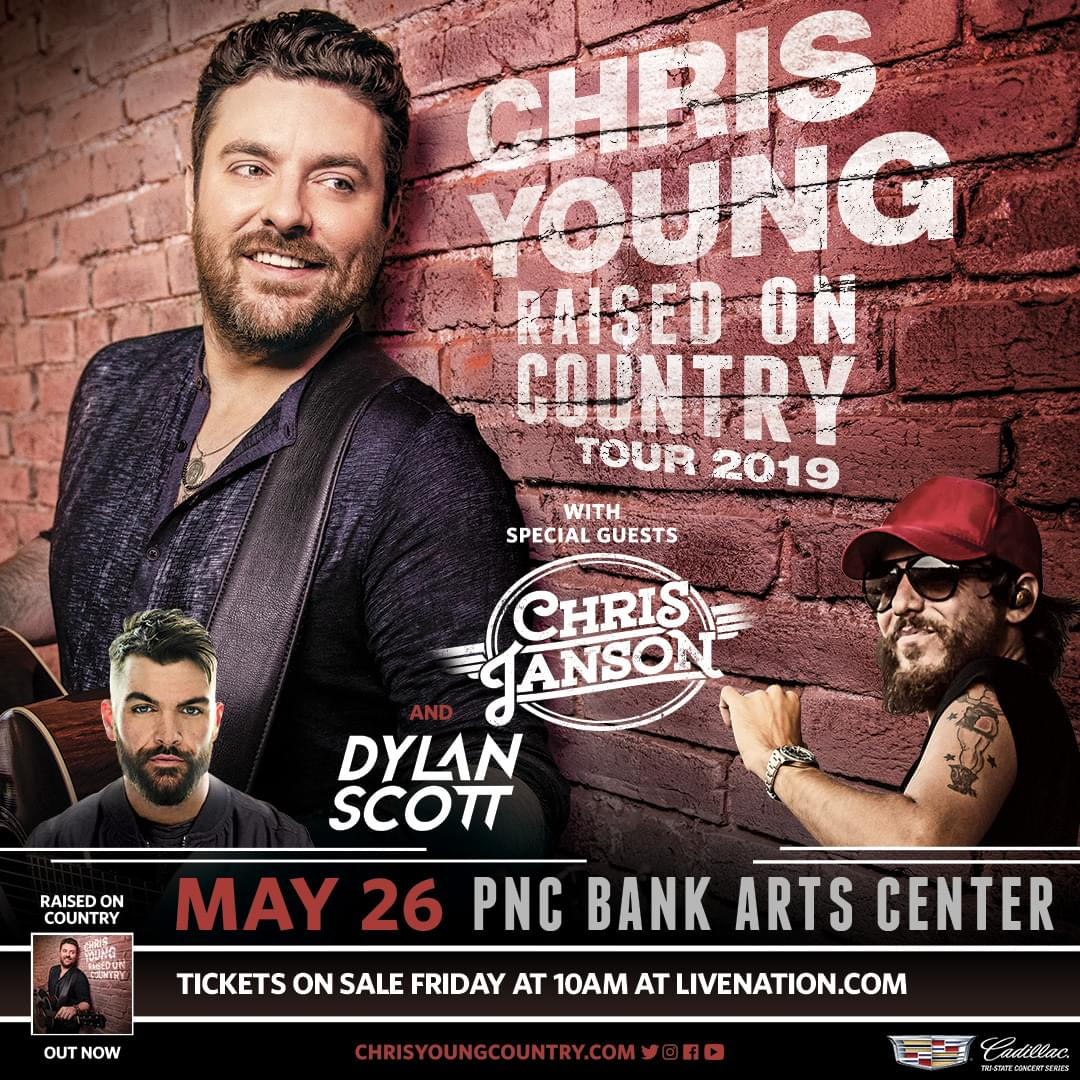 Win Tickets to Chris Young's Raised on Country Tour!