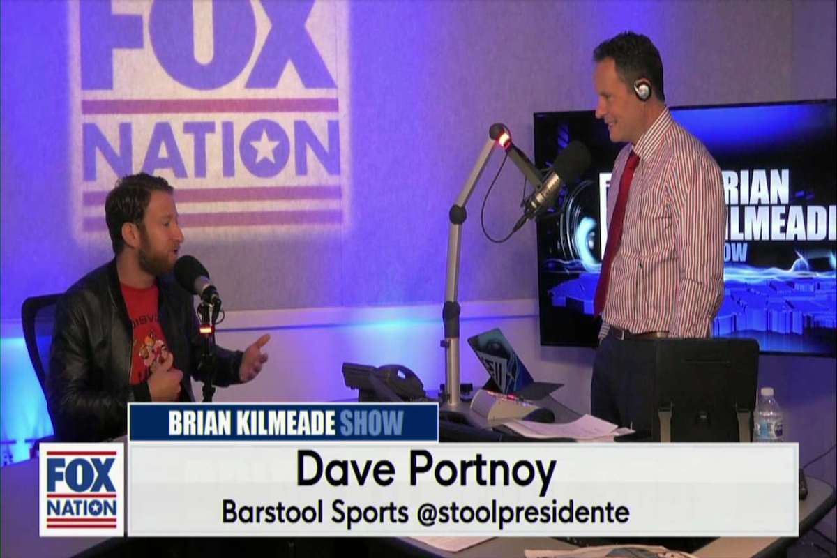 Brian Kilmeade with Dave Portnoy from Barstool Sports [Video]