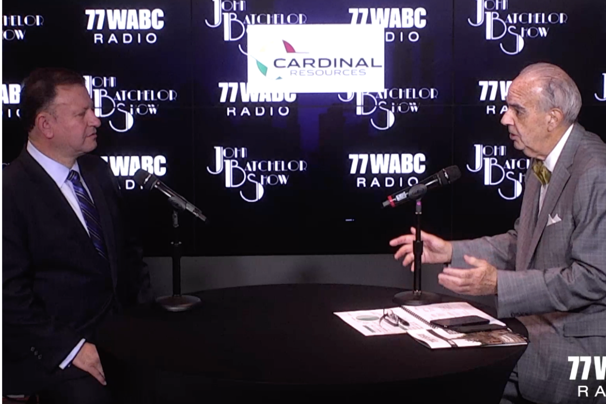 The John Batchelor Show with Archie Koimtsidis [Exclusive Video]
