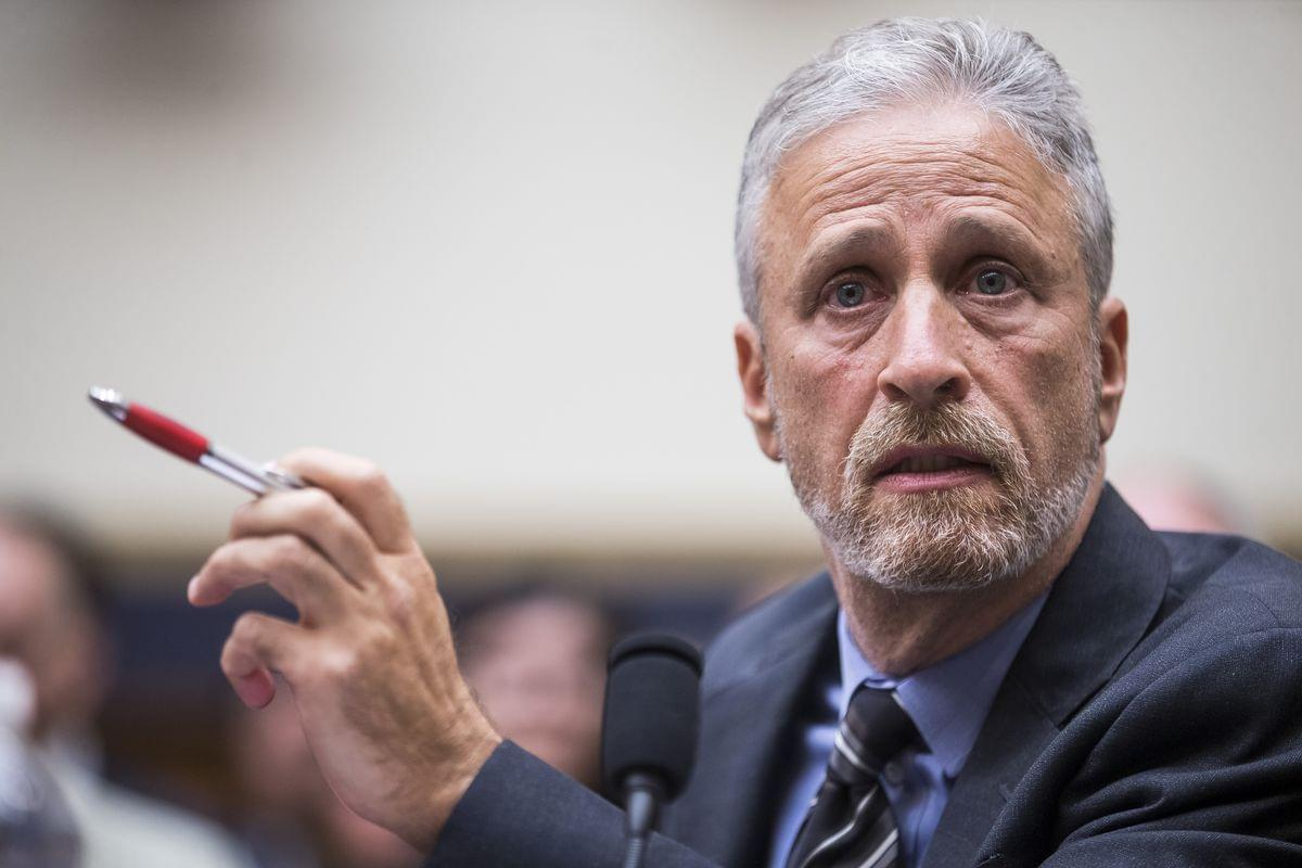 Jon Stewart's Emotional Testimony Helps Push Congress to pass 9/11 Compensation Fund