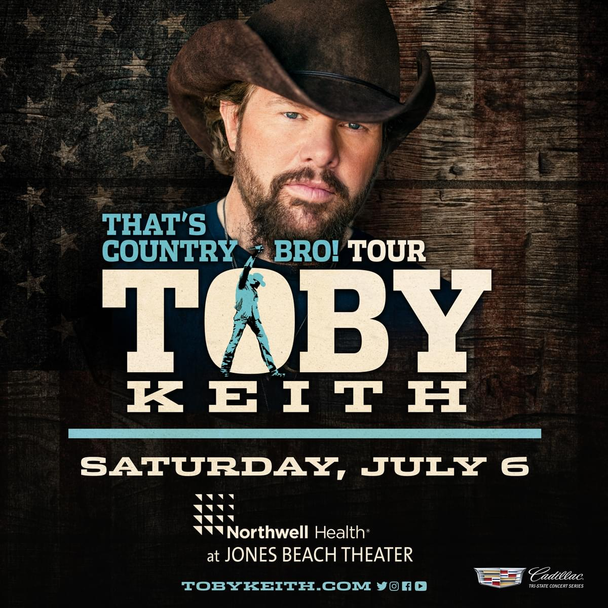 Win Tickets to Toby Keith's 'That's Country Bro!' Tour!