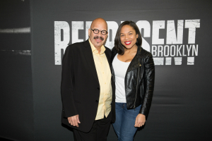 Tom Joyner at Brooklyn Nets Game! [Photos]