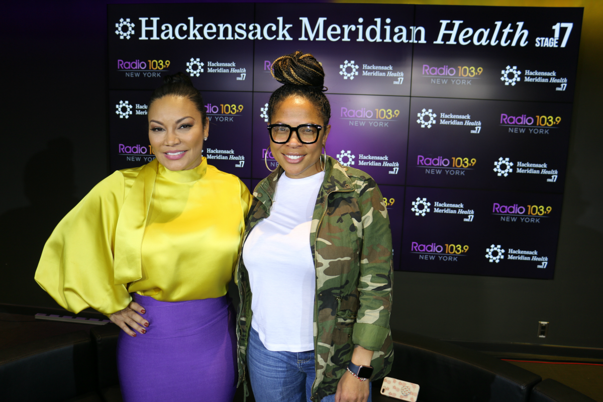 Egypt Sherrod LIVE from HMH Stage 17! [Exclusive Video]