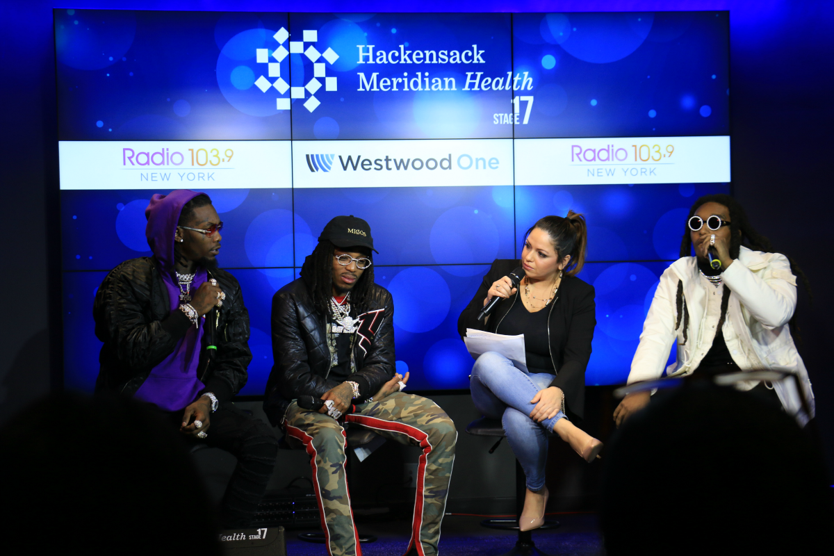 Migos Interview LIVE from HHM Stage 17! [Exclusive Video]