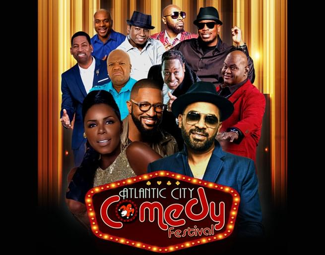 Win Tickets to the Atlantic City Comedy Festival!