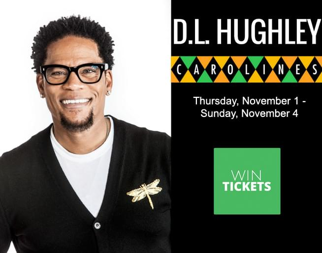 Win Tickets to see D.L. Hughley at Caroline's on Broadway!