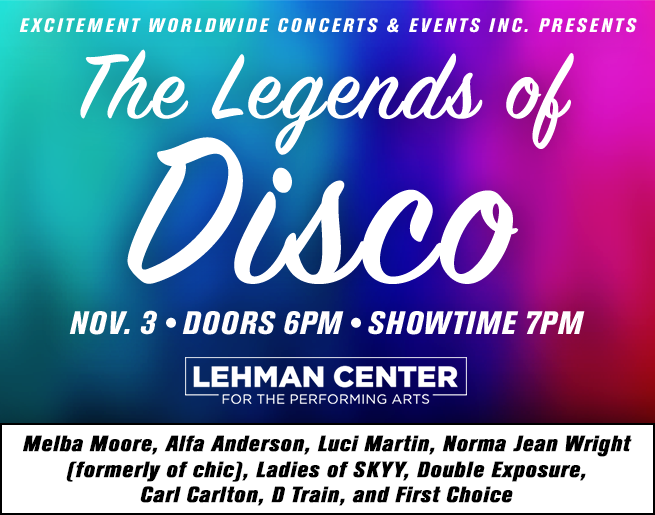 Win Tickets to Legends of Disco!
