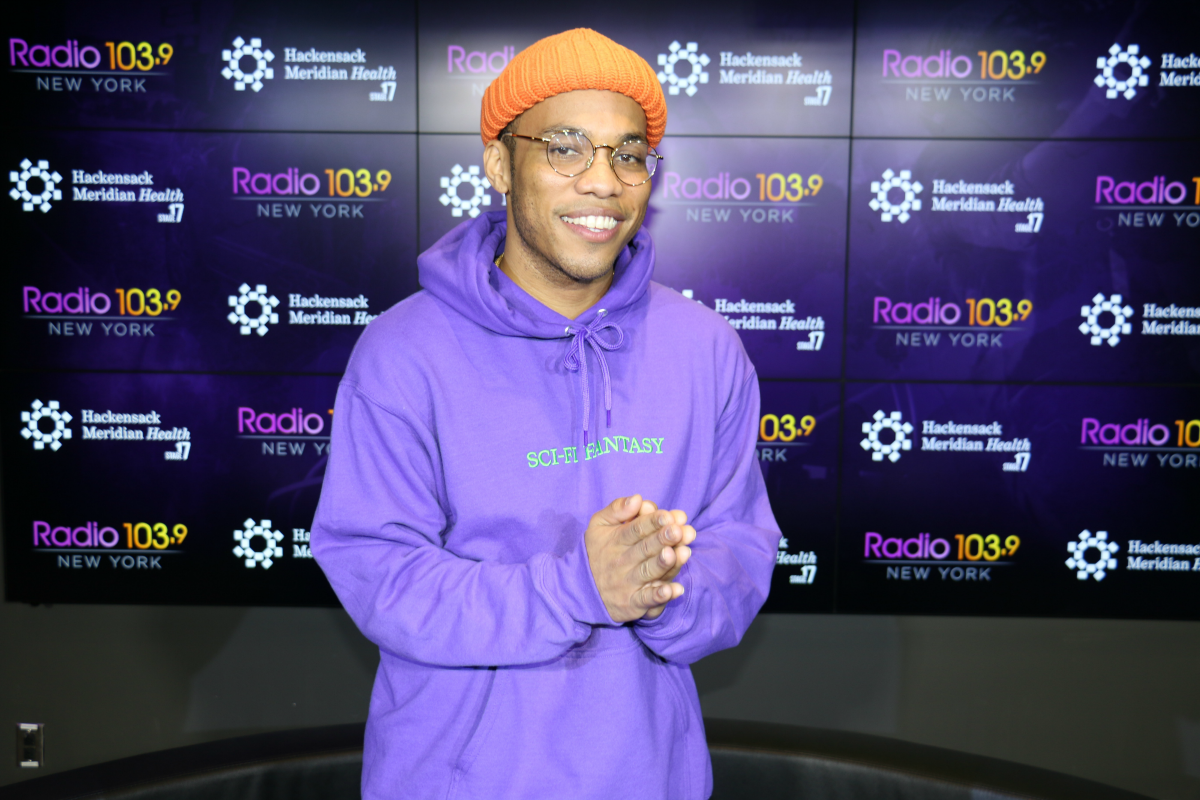 Anderson .Paak Interview LIVE from HMH Stage 17! [Exclusive Video]