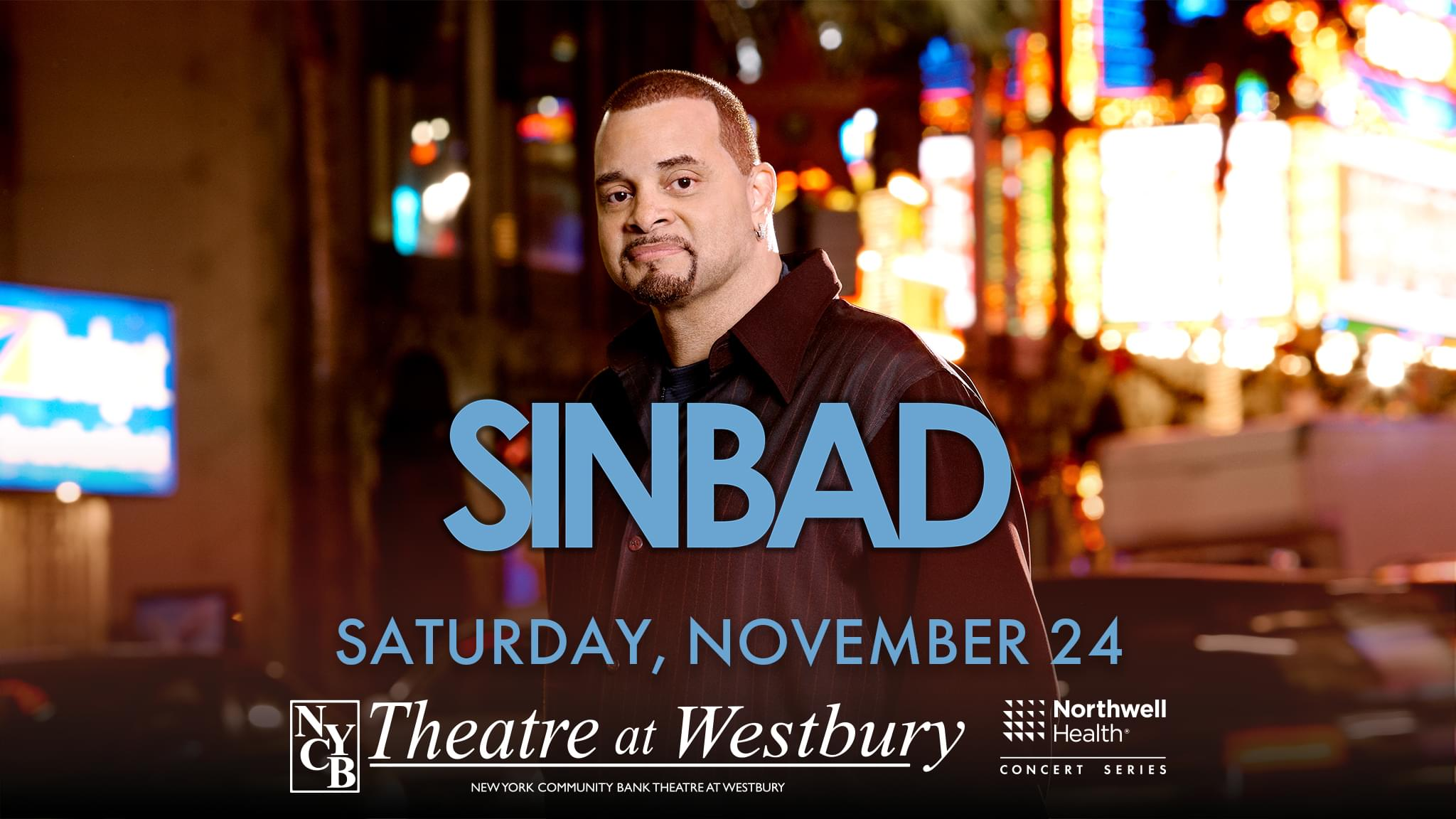 Win Tickets for Sinbad!