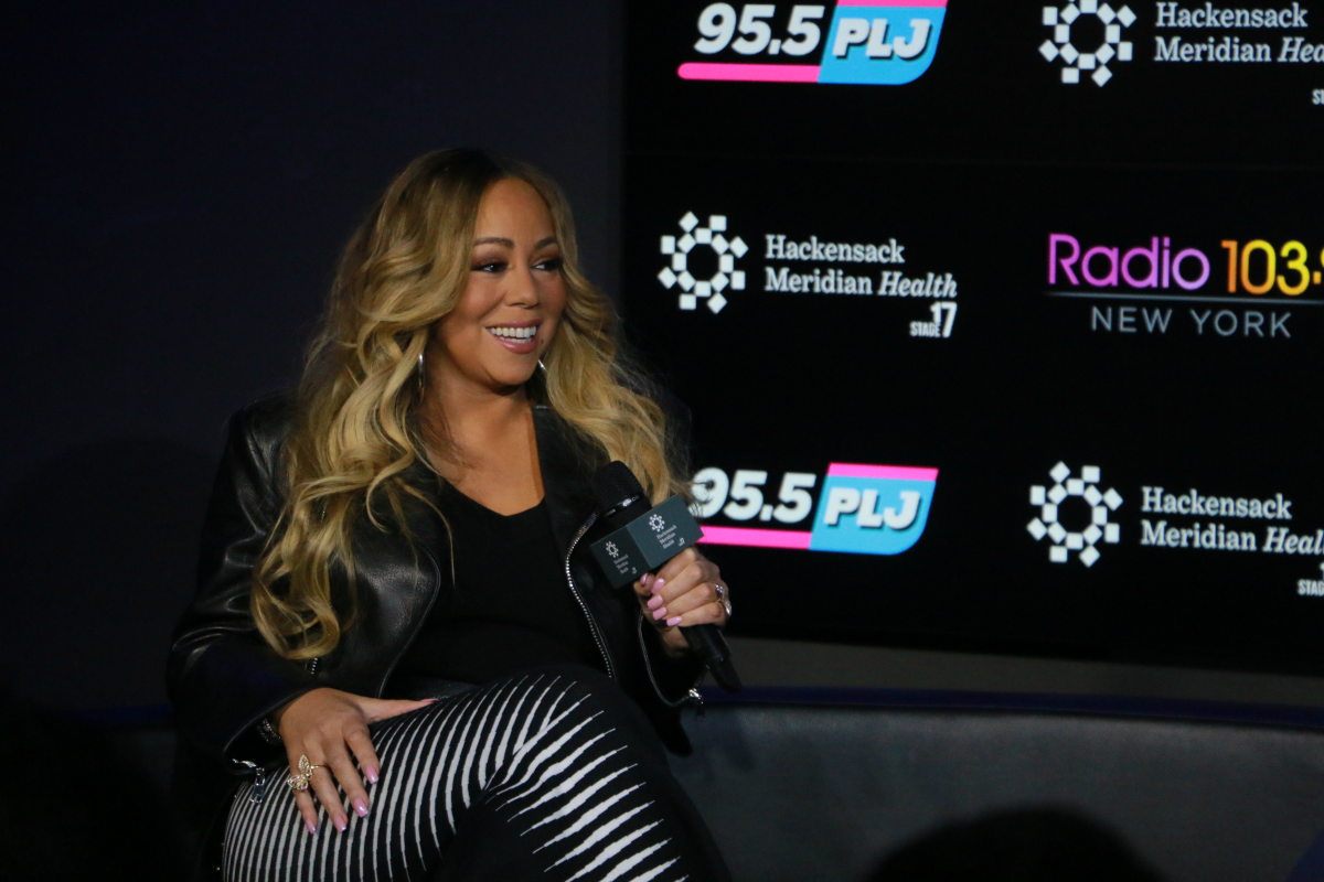 Mariah Carey Interview on HMH Stage 17! [Exclusive Video]