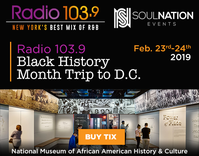 Celebrate Black History Month with Radio 103.9 in Washington DC!
