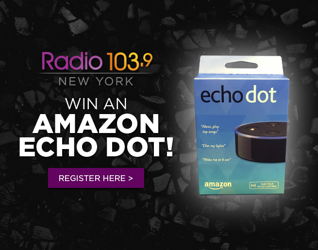 Win an Echo Dot with Alexa and Radio 103.9!