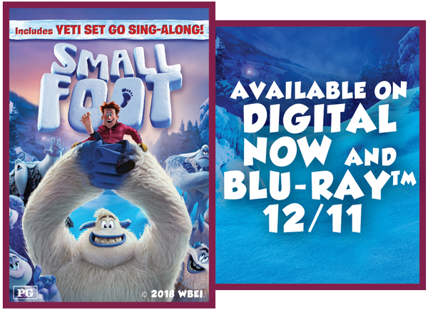 "Win a Digital Download of ""Smallfoot""!"