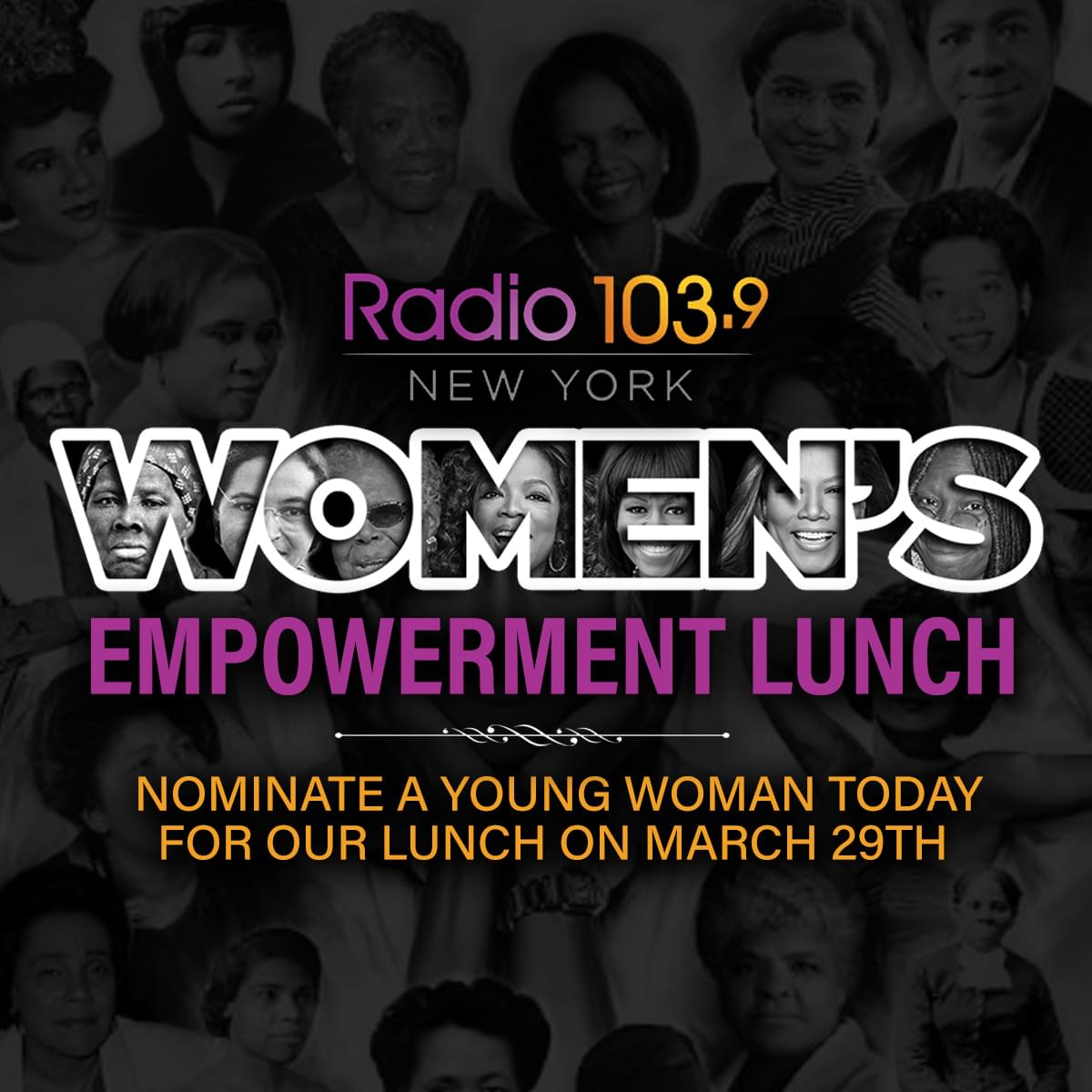 Submit Your Nomination for the Annual Women's Empowerment Lunch!