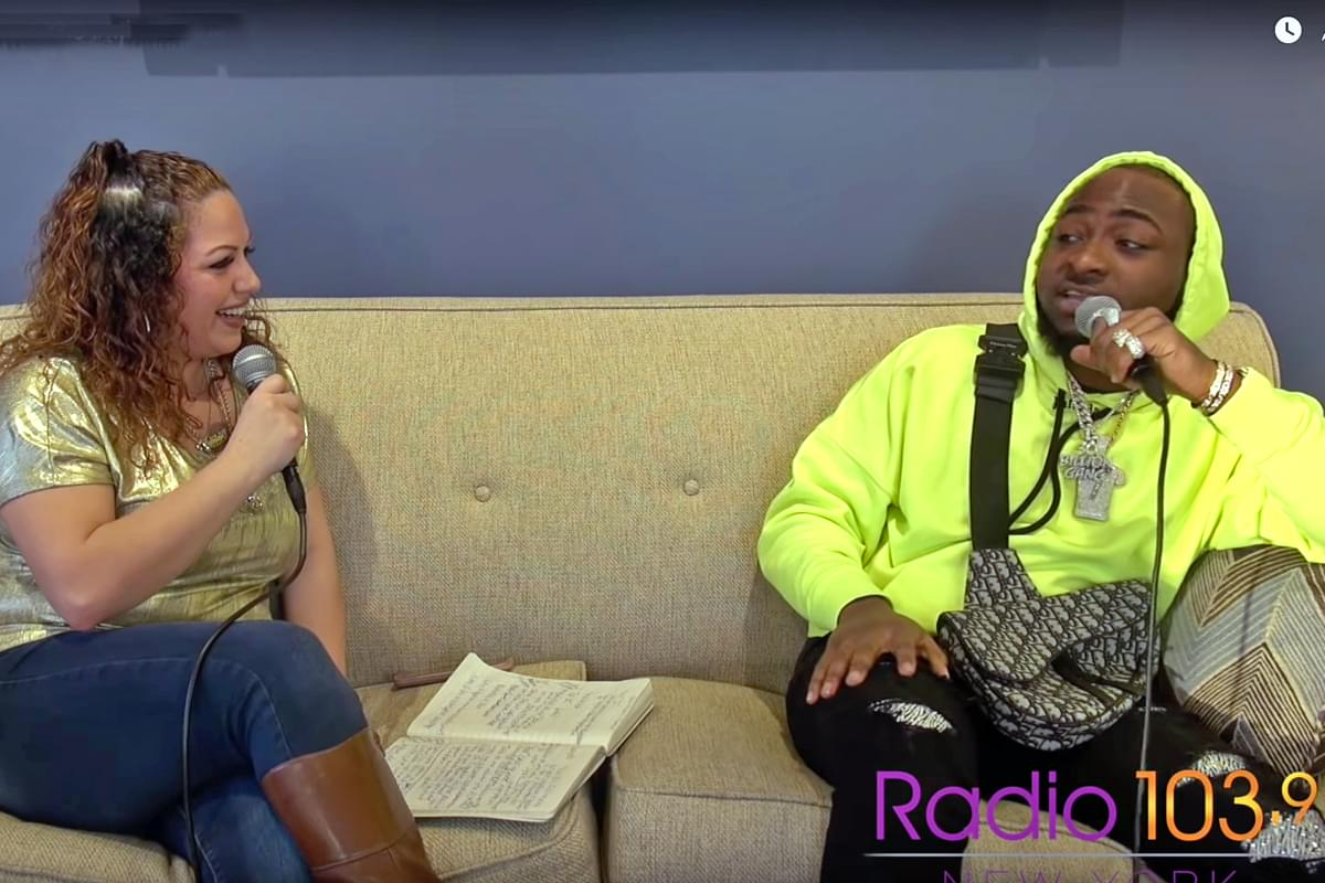 Davido Interview from RADIO 103.9 FM's Lounge [Exclusive Video]