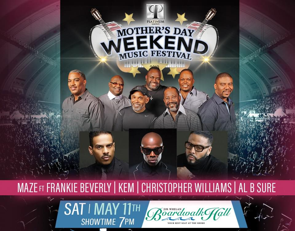 Win Tickets to the Mother's Day Music Festival in AC!
