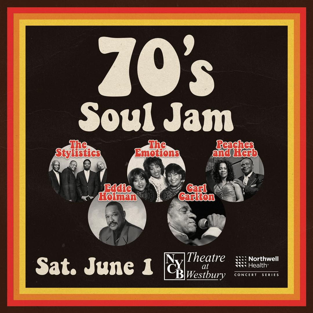 Win Tickets to 70's Soul Jam Coming to NYCB Theatre at Westbury!