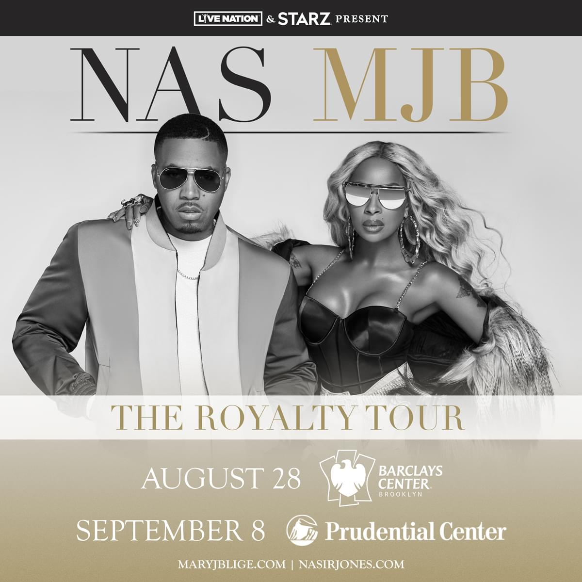 """Win Tickets to See Mary J  Blige and Nas """"The Royalty Tour"""