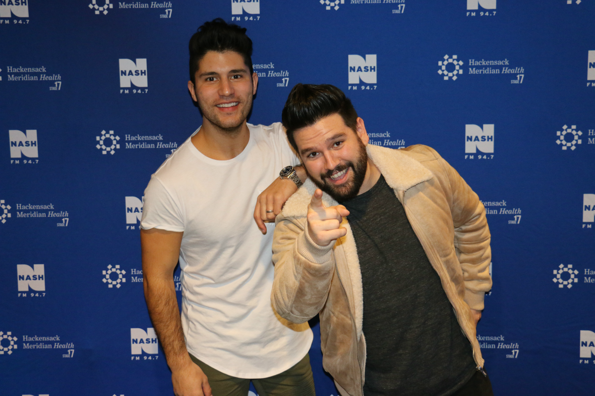 Dan + Shay LIVE from HMH Stage 17! [Exclusive Video]