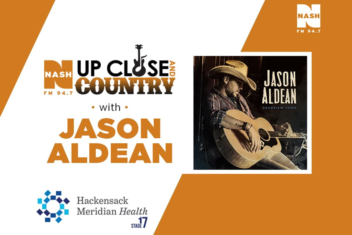 [EXCLUSIVE VIDEO] Jason Aldean LIVE from HMH Stage 17!