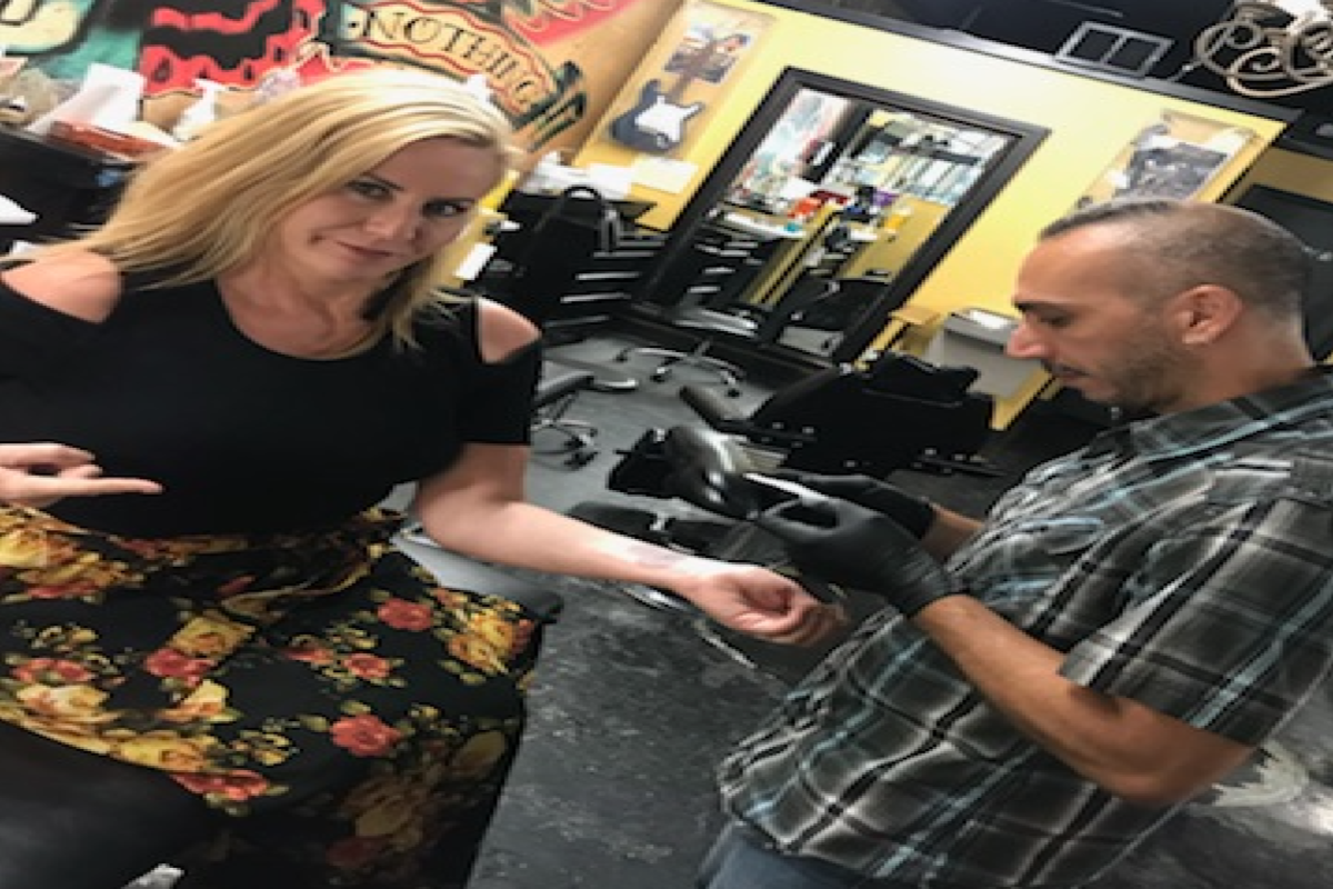 Watch: Kelly Ford Gets Her First Tattoo