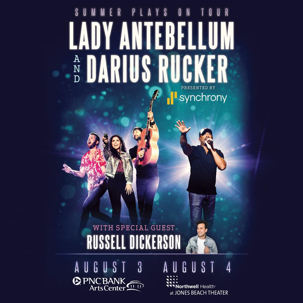 Win Tickets to See Lady Antebellum and Darius Rucker!