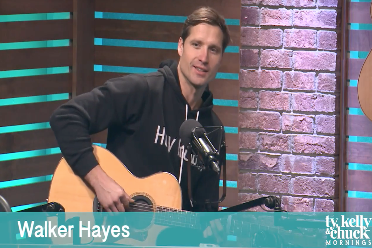 Walker Hayes Gets Tattoo Dedicated to Late Daughter