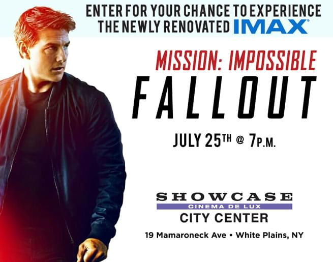 Win Tickets to an Advanced Screening of Mission Impossible: Fallout!