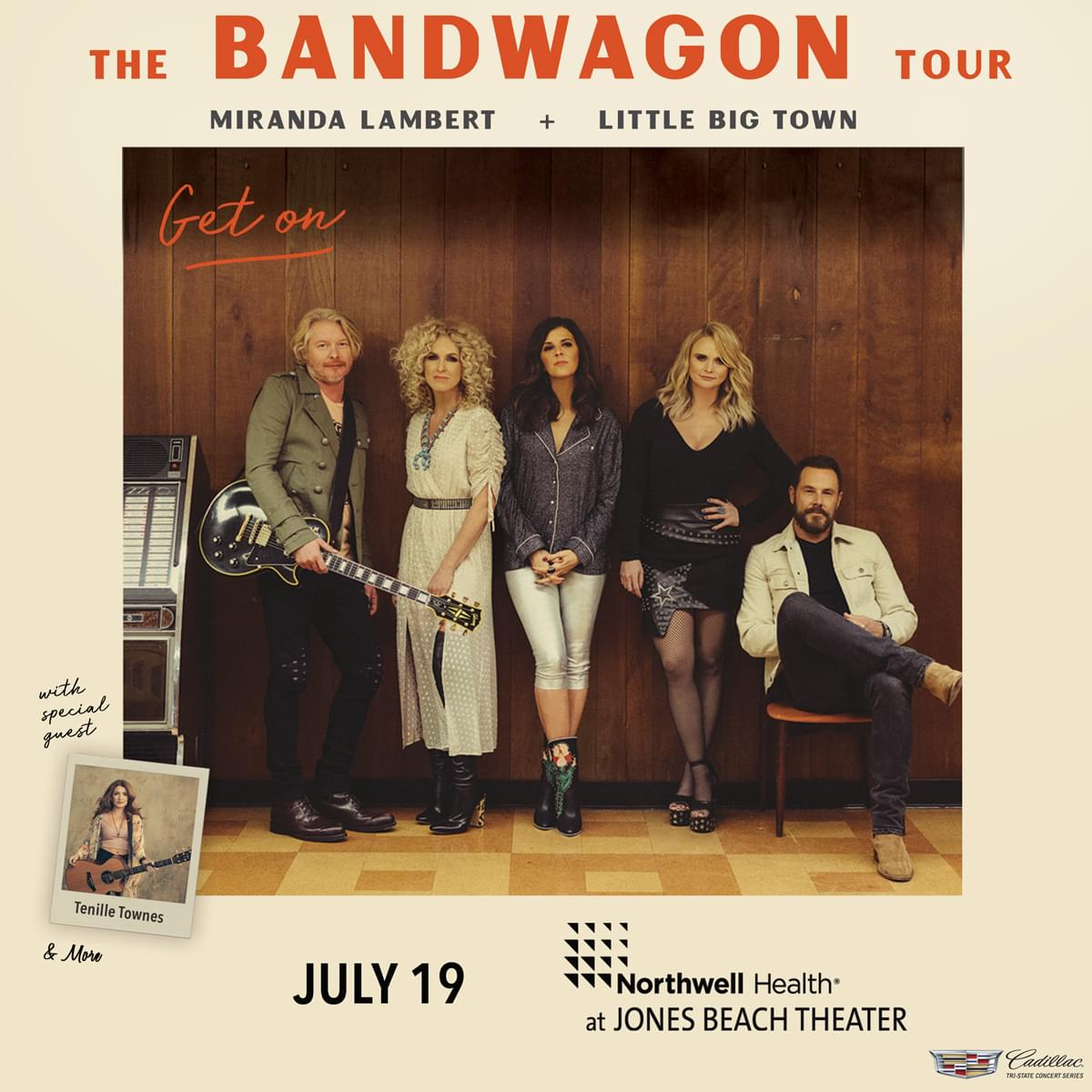 Win Tickets to The Band Wagon Tour with Miranda Lambert and Little Big Town!