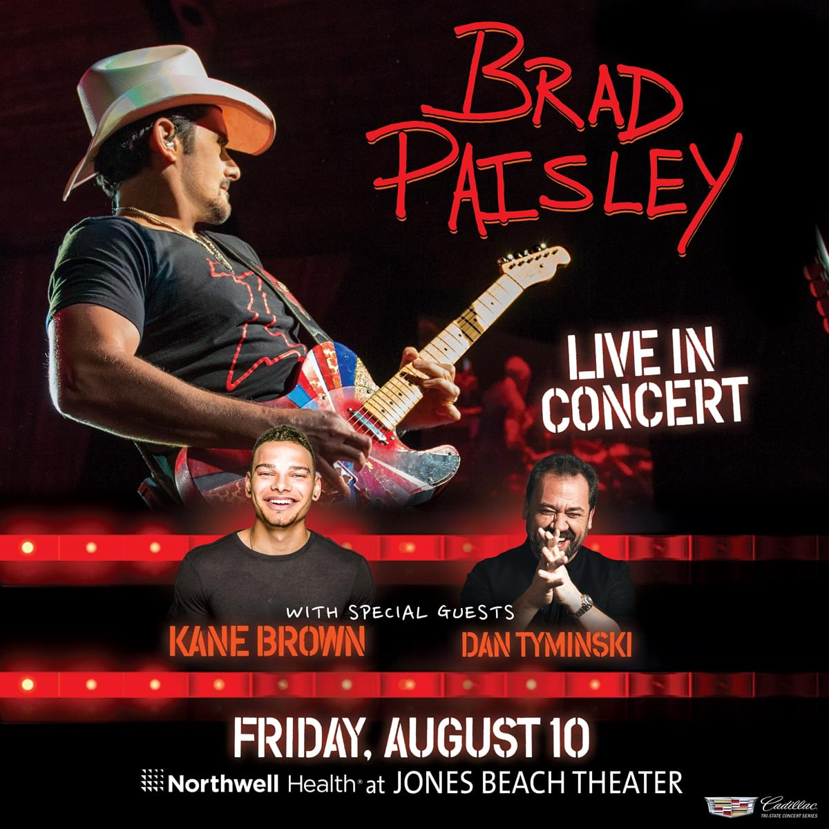 Win Tickets to the NASH Beach Bash featuring Brad Paisley!