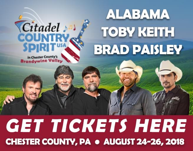 Win a Pair of 1-day Passes to Citadel Country Spirit USA!
