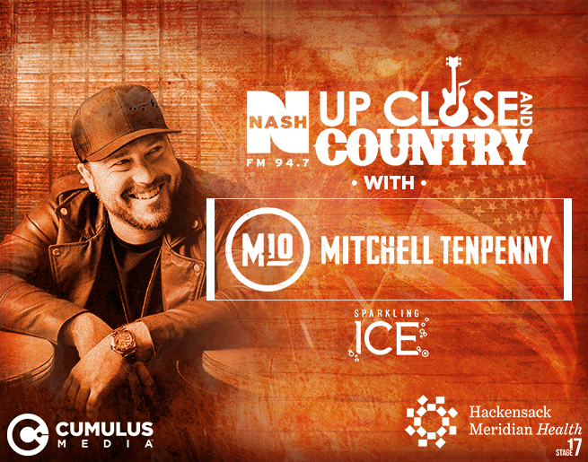 Win Tickets to Up Close and Country with Mitchell Tenpenny!