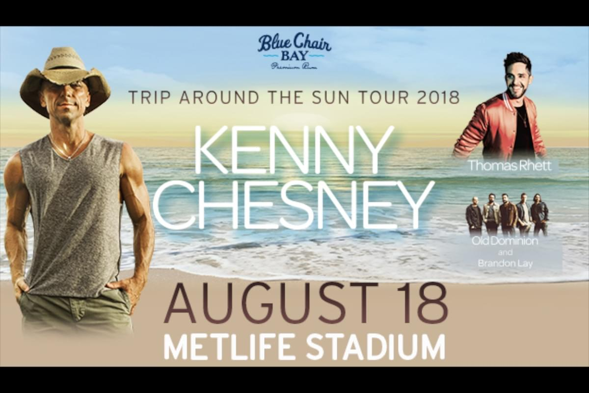 Enter to Win Kenny Chesney at MetLife Stadium Tickets!