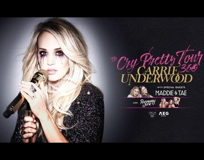 Enter to Win Carrie Underwood Tickets!