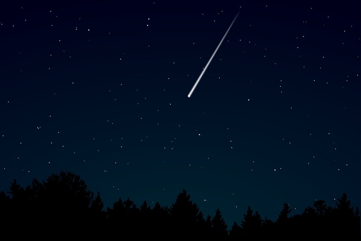 Best Times & Places to see this Weekend's Meteor Shower