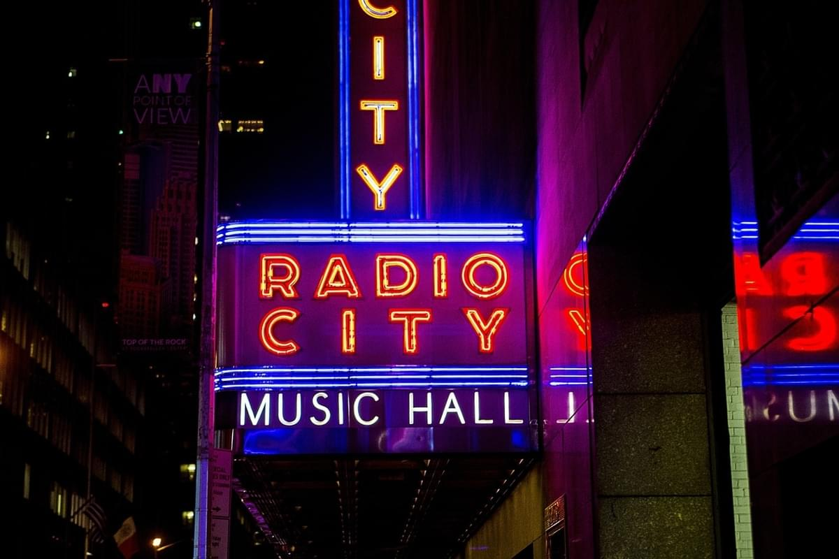 Radio City Music Hall Gets a Makeover for Monday Night's VMA's