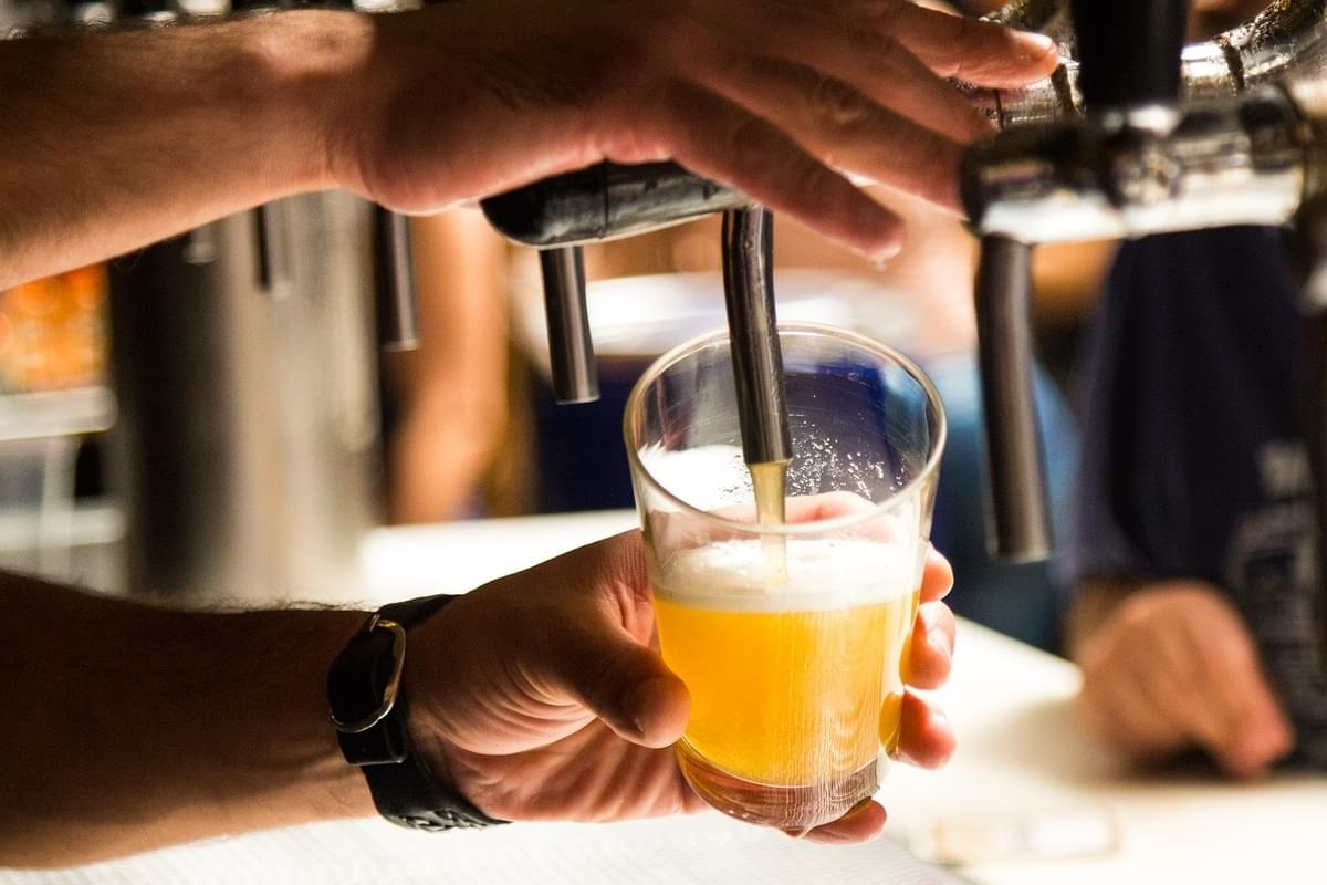 World's First Beer Hotel has in room Taps