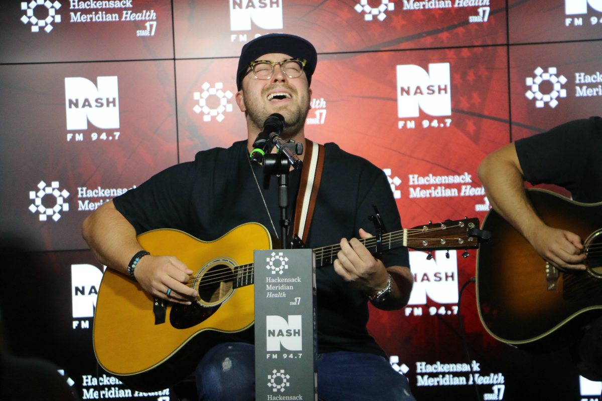 Mitchell Tenpenny LIVE from HMH Stage 17! [Exclusive Video]