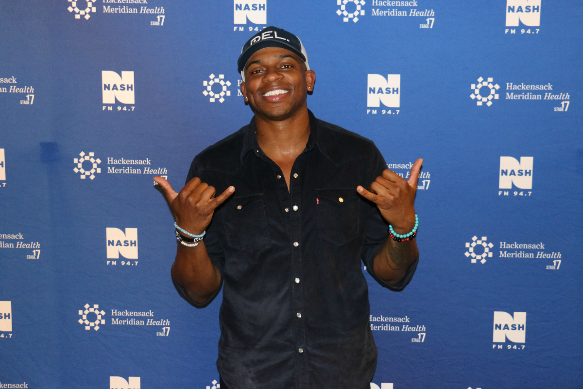 Jimmie Allen LIVE from HMH Stage 17! [Exclusive Video]