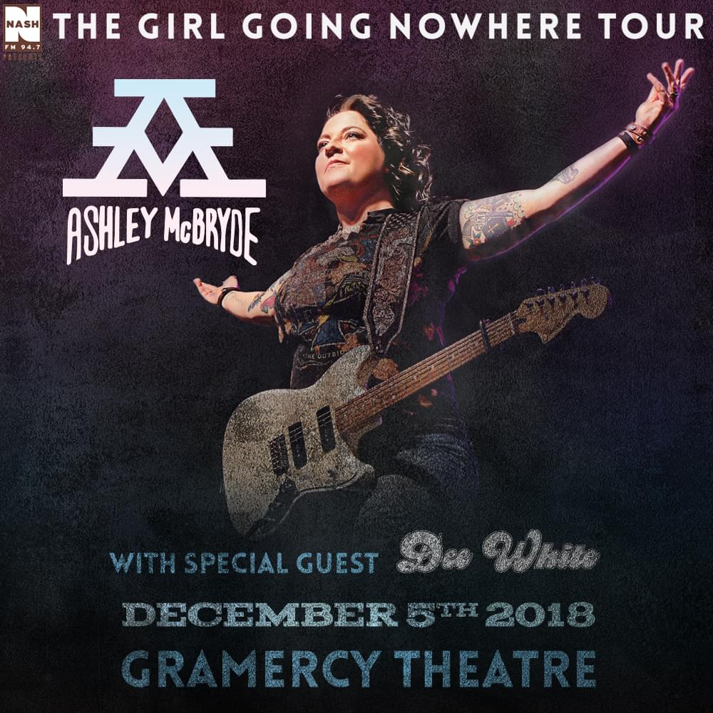 Win Tickets to NASH FM 94.7 Presents Ashley McBryde's The Girl Going Nowhere Tour at Gramercy Theatre!