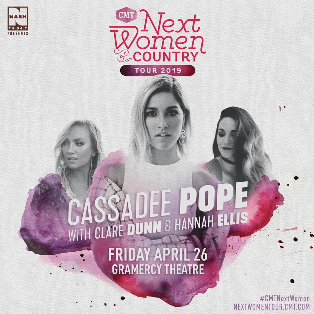 Win Tickets to NASH FM 94.7 Presents Cassadee Pope's CMT Next Women of Country Tour!
