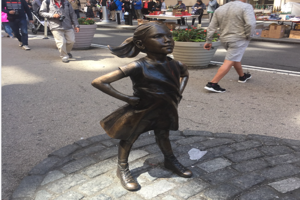'Fearless Girl' officially has a new home