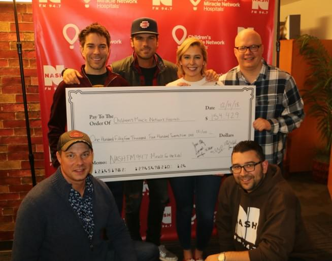 NASH FM 94.7 Miracle for the Kids Holiday Broadcast [Exclusive Photos]