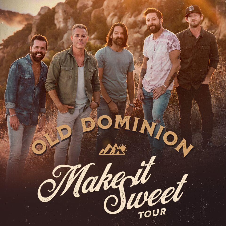 Win Tickets to See Old Dominion at Hulu Theater at Madison Square Garden!