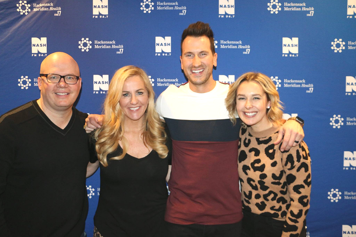 NASH FM 94.7 Special Announcement and Russell Dickerson LIVE from HMH Stage 17 [Exclusive Video]