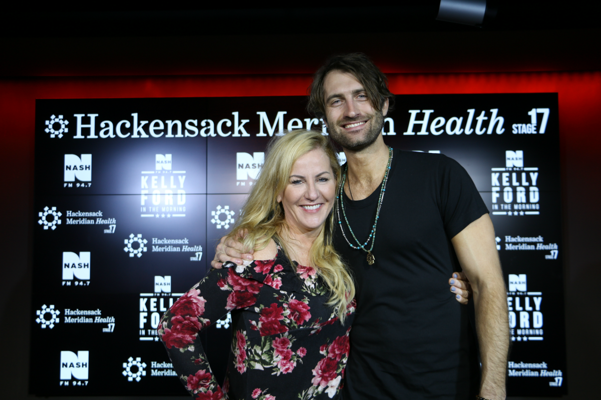 Ryan Hurd Interview with Kelly Ford LIVE from HMH Stage 17! [Exclusive Video]